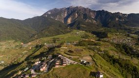 Dream World Resort Kundasang royalty free stock images