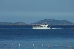 Dream yacht Royalty Free Stock Image