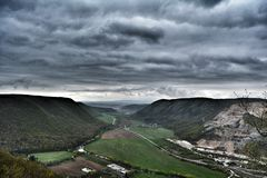 Dreama sky. Clouds deep Slovakia Royalty Free Stock Photo