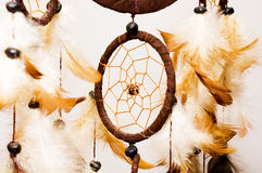 Dreamcatcher. Isolated on white background Stock Images