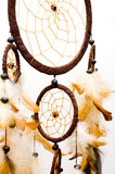 Dreamcatcher. Isolated on white background Stock Image