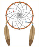 Dreamcatcher. Vector illustration of a dream catcher Stock Photography