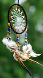 Colorful dreamcatcher. Catching bad dreams Stock Images