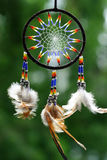 Dreamcatcher. Is catching bad dreams Royalty Free Stock Image