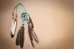 Dreamcatcher  Against Neutral Background Royalty Free Stock Photography