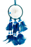 Dreamcatcher azul Foto de Stock Royalty Free