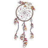 Dreamcatcher craft creative   illustration Stock Photos