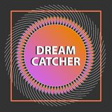 Dreamcatcher dans le vecteur Configuration abstraite Image stock