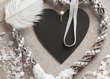 Dreamcatcher en forme de coeur Photos libres de droits