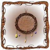 Dreamcatcher illustration Stock Photo