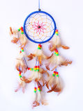 Dreamcatcher a isolé dans le blanc Photos stock