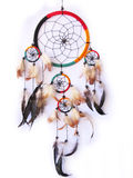 Dreamcatcher isolated in white Stock Photography