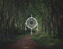 Dreamcatcher Magic Decoration Traditional Fashion Concept Stock Photography