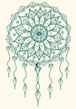 Dreamcatcher mandala royalty free stock photos