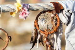 Dreamcatcher at Medicine Wheel Royalty Free Stock Photo