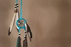 Dreamcatcher met Neutrale Achtergrond Royalty-vrije Stock Afbeelding