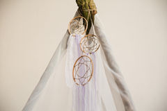 Dreamcatcher of natural colors Royalty Free Stock Images
