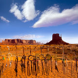 Dreamcatcher from Navajo Monument West Mitten Butte Royalty Free Stock Photos