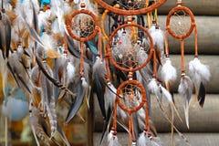 Dreamcatcher. Original dreamcatcher from native American cultures Stock Images