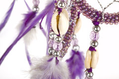 Dreamcatcher over white. Stock Photography