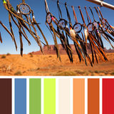 Dreamcatcher palette Royalty Free Stock Image