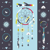 Dreamcatcher print Stock Photos