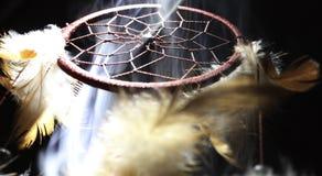 Dreamcatcher rempli par fumée Images stock