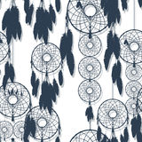 Dreamcatcher seamless Royalty Free Stock Photography