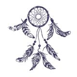 Dreamcatcher Stile 1 di Boho Fotografie Stock