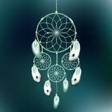 Dreamcatcher vector illustration Stock Photography