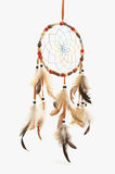 Dreamcatcher. On white background. Isolated Stock Photo