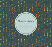 Dreamcatcherachtergrond Stock Fotografie