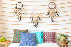 Dream Catcher Above Bed Dreamcatcher above the bed stock photo Image of america 40 38