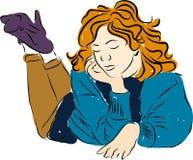 DREAMER GIRL Royalty Free Stock Image