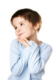 Dreamful kid Stock Photography