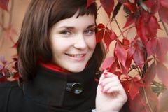 Dreaminess nel rosso Fotografia Stock