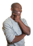 Dreaming african man Stock Images