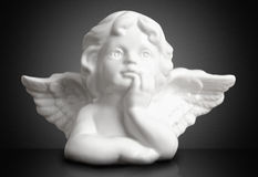 Dreaming Angel Royalty Free Stock Image
