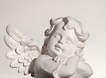 Dreaming Angel Royalty Free Stock Images