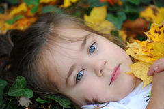 Dreaming Autumn Royalty Free Stock Photo