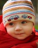 Dreaming Baby Boy Stock Photo