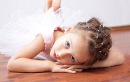 Dreaming ballerina Stock Images