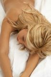 Dreaming blond Royalty Free Stock Photos