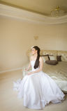 Dreaming bride Royalty Free Stock Photography