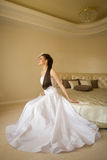 Dreaming bride Royalty Free Stock Photos