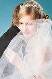 Dreaming bride Stock Photos