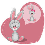 Dreaming Bunny Royalty Free Stock Images