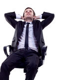 Dreaming business man Stock Photography
