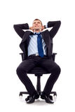 Dreaming businessman Stock Photography