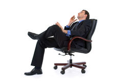 Dreaming businessman Stock Photos